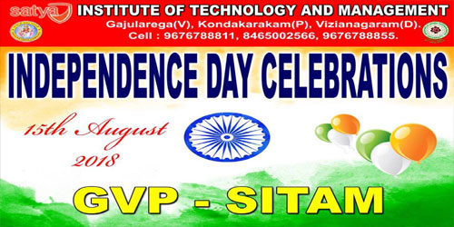 72nd Independance Day Celebrations @SITAM